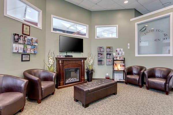 McKenzie Towne Family Dental Office Waiting Room